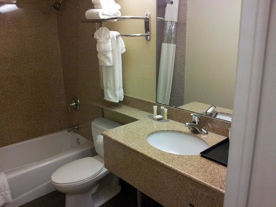 Howard Johnson Inn & Suites Reseda: Bath
