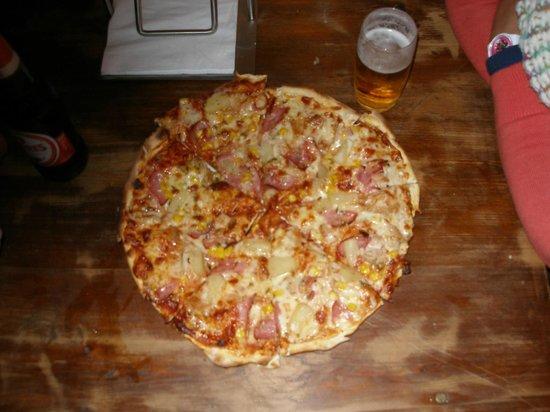 Atabai Bar & Restaurant: a mate's 'build your own' pizza
