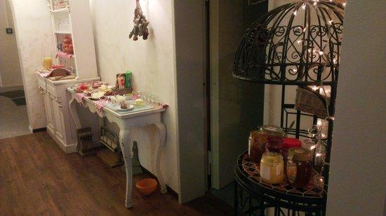 Barbarossa Garni Hotel: Dining area