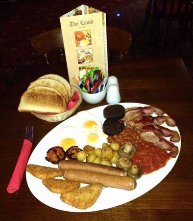 Ashby de la Zouch, UK: The Belly Buster @The Lamb Ashby ❤ Traditional ❤ Farmhouse  ❤ Hastings ❤ Belly Buster