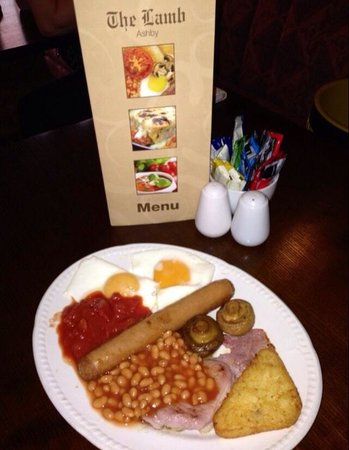 Ashby de la Zouch, UK: The Farmhouse just on of our English Breakfasts