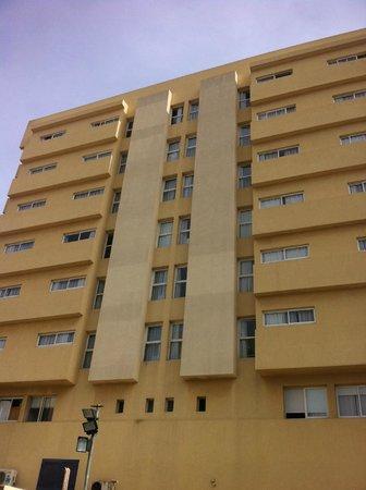 Hotel Prima City, Tel Aviv: Seite zum Meer
