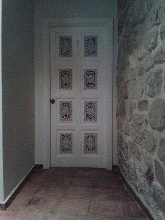 Santa Maria de Ubeda : Puerta de la habitación