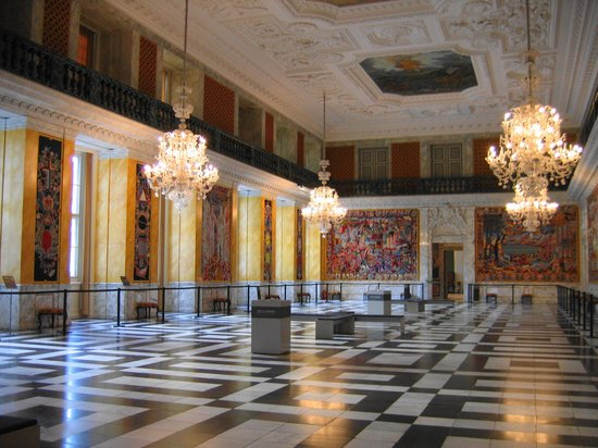 Schloss Christiansborg (Christiansborg Slot): Большой зал с гобеленами
