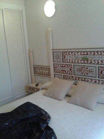 Santa Maria de Ubeda: La cama.