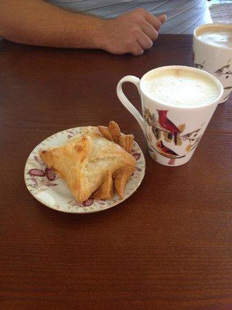 Around the World Cafe : Chicken pie.