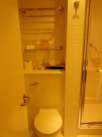 Hilton Garden Inn Bristol City Centre: Bathroom toilet