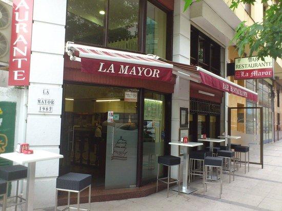 Restaurante La Mayor: Fachada del restaurante
