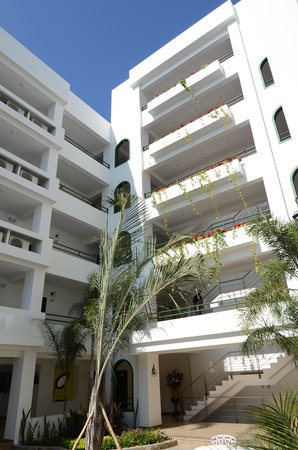 Balandra Hotel: Patio interno