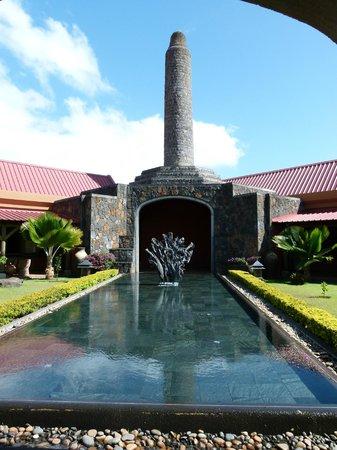 Rhumerie de Chamarel: Un bassin accueillant !