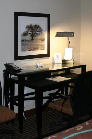 Prairie Hotel: Desk Area