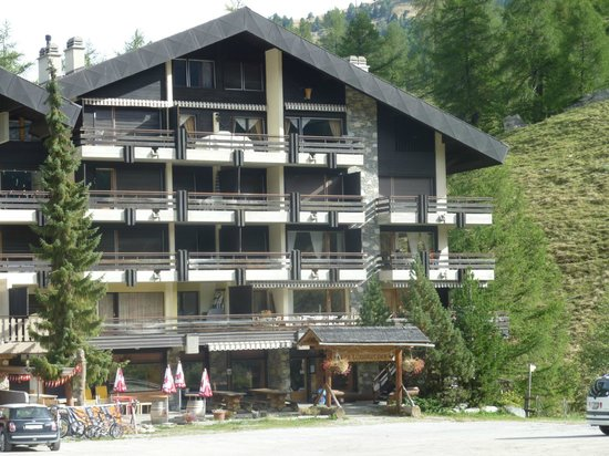 Siviez, Svizzera: l'hébergement occupe le rez-de-chaussée