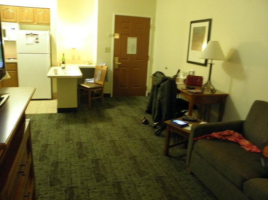 Staybridge Suites Corning: view from the sitting area