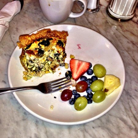 The Blue Door Cafe and Bakery : The Quiche. Would order it again.