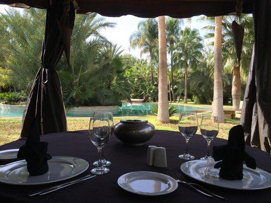Lodge K Hotel & Spa : table du déjeuner