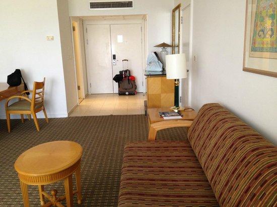 David Dead Sea Resort & Spa : living room