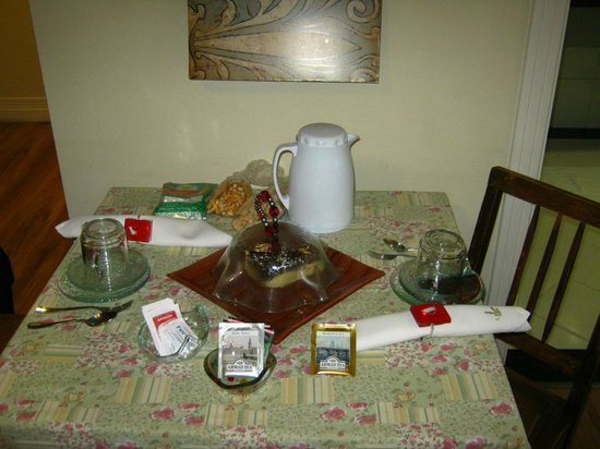 Boutique Hotel Varanda das Bromelias: Chá da tarde