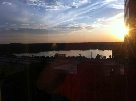 DoubleTree by Hilton Orlando Downtown: Sunrise or Sunset on Lake Ivanhoe
