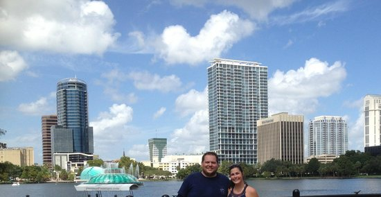 DoubleTree by Hilton Orlando Downtown : At Lake Eola