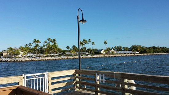 Islander Resort, a Guy Harvey Outpost: View from the pier