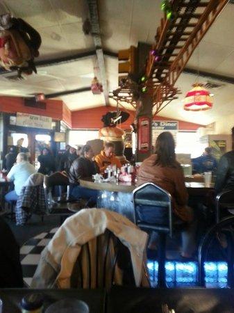 Dennys Diner: Diner Interior