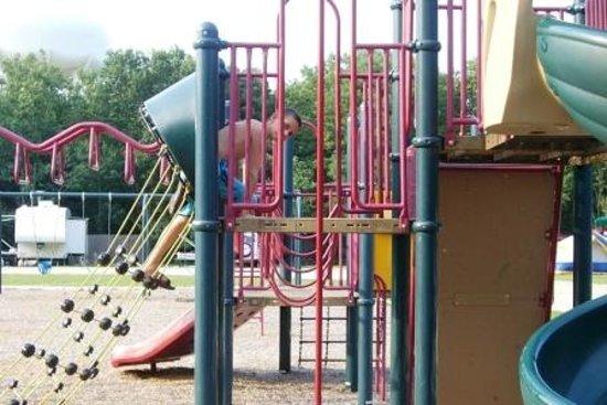 Cedar Creek Campground: campground playground
