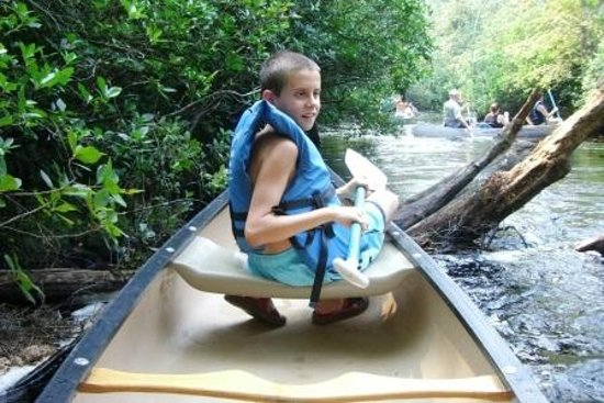Cedar Creek Campground: having fun