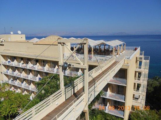 Agios Ioannis Peristeron, Grécia: Отель