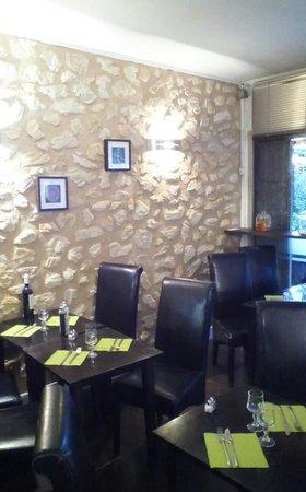 Le Square Cafe: l i intérieur