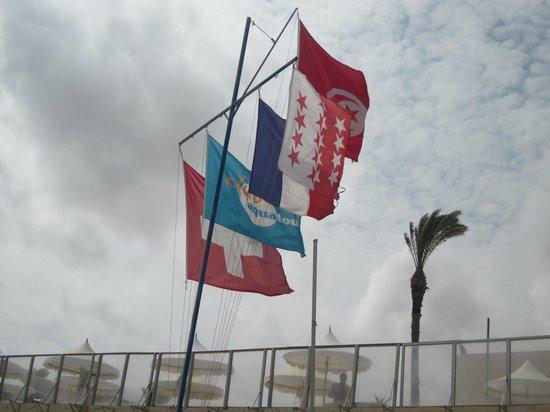 Club Oasis Marine : wouaaaah le drapeau valaisan !