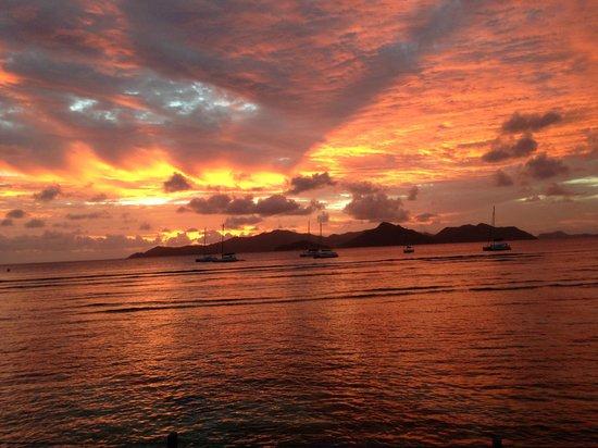 Le Domaine de L'Orangeraie Resort and Spa: Atemberaubende Sonnenuntergänge
