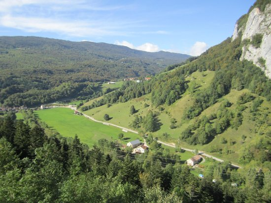Velo Vercors : Great views like this all over the Vercors Region