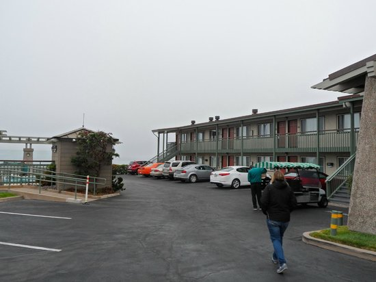 Cavalier Oceanfront Resort: Aussenanlage