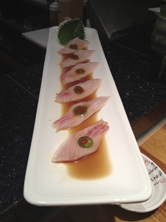 Kaizen: Yellowtail sashimi