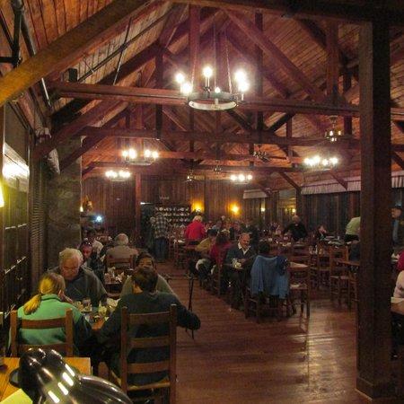 Big Meadows Lodge Dining: Interior