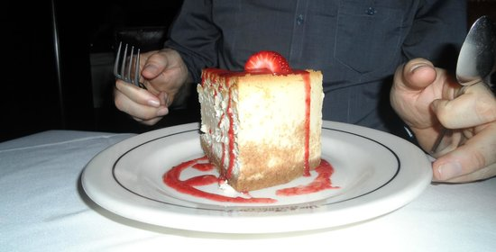 Vic & Anthony's Steakhouse: Cheesecake to blow your mind!