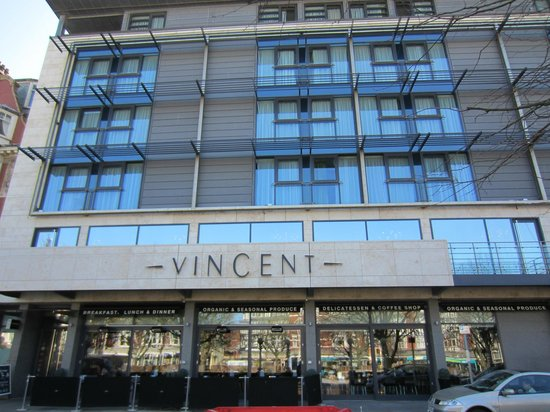 The Vincent Hotel: Front of House