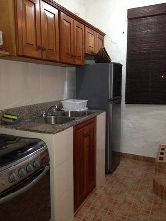 San Carlos Beach Inn: top right apartment kitchen