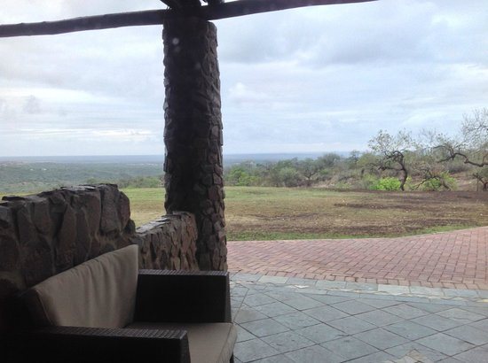Zulu Nyala Game Lodge: View from room 51