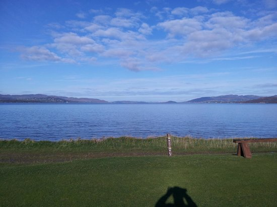North West Golf Club: Lough Swilly from 1st tee