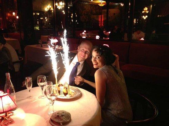 Maxim's : Our wedding anniversary celebration!