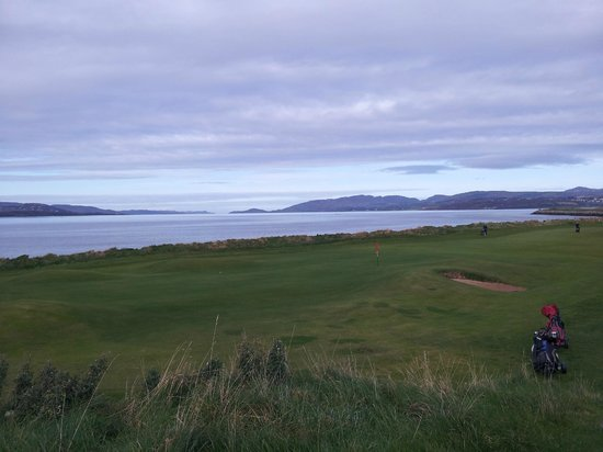 North West Golf Club: Mouth of Lough Swilly