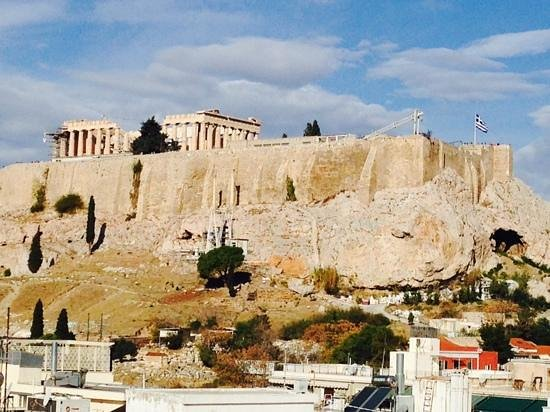 The Athens Gate Hotel : beautiful view