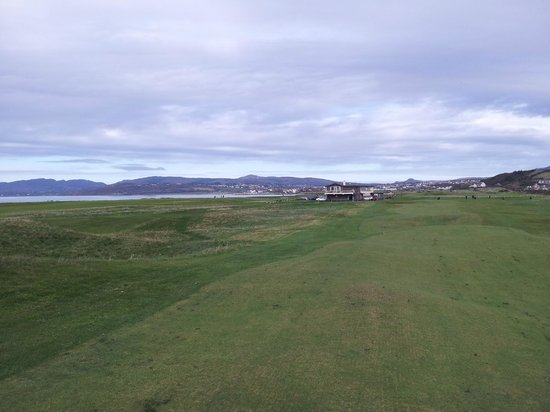 North West Golf Club: View on 18th