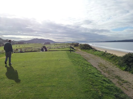 North West Golf Club: 1st from Tee