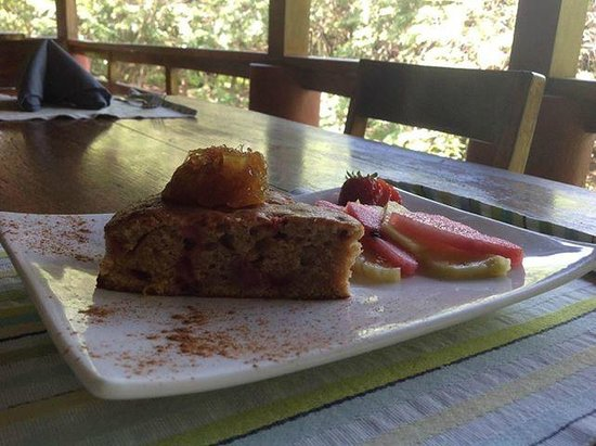 Upstairs at the RipJack Inn: Strawberry Mango Breakfast Bread