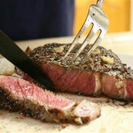 The Wine Bar: Ribeye Steak mmmmmm