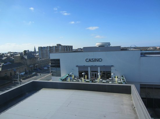 Ramada Plaza Southport: View from room - Hmm