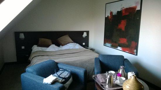 Le Richebourg: Notre chambre