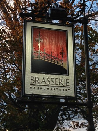 The Brasserie : Sign